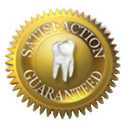 Ask us about our dental restoration warranty!